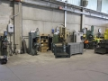 welding workshop area